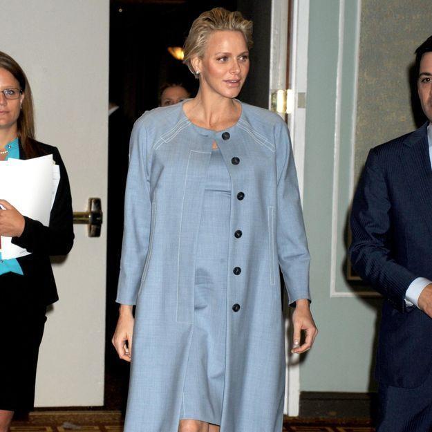 Charlène de Monaco est bien enceinte de jumeaux!