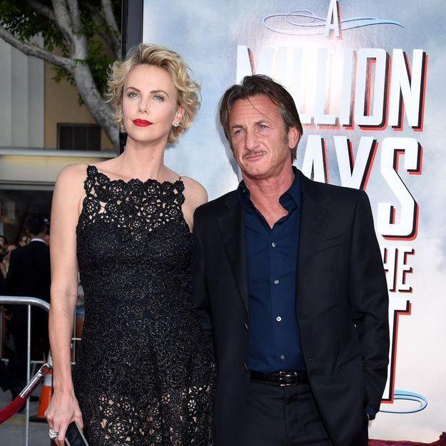 Charlize Theron et Sean Penn, fiancés à Paris