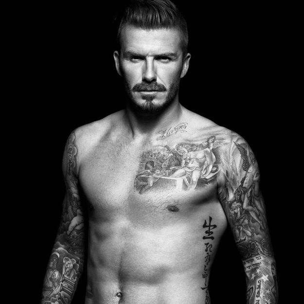 David Beckham se dénude(encore!) pour H&M