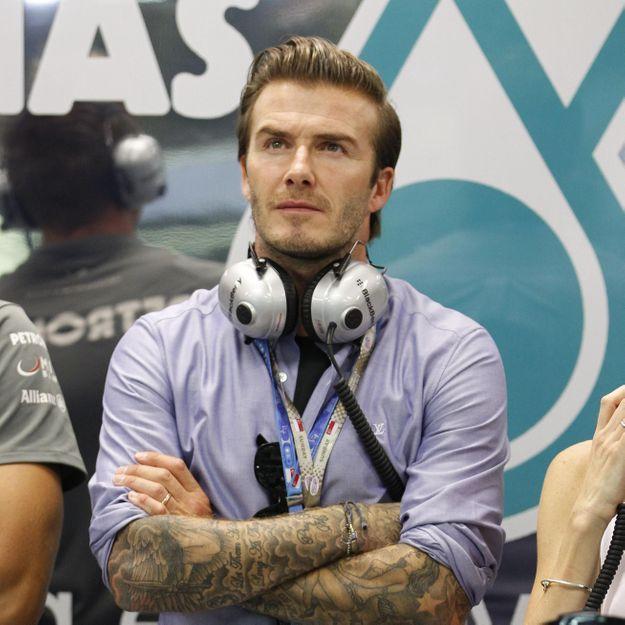 David Beckham victime d'un horrible bizutage à ses débuts