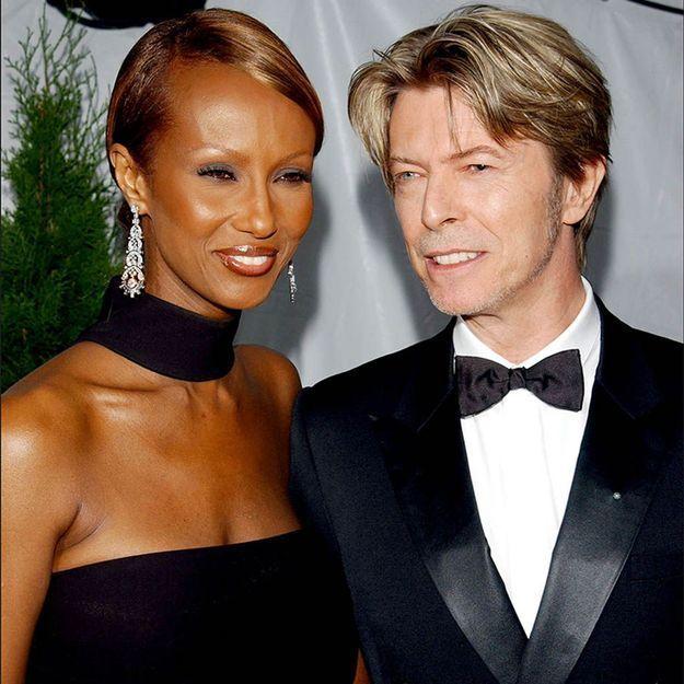 David Bowie : les messages de son épouse Iman