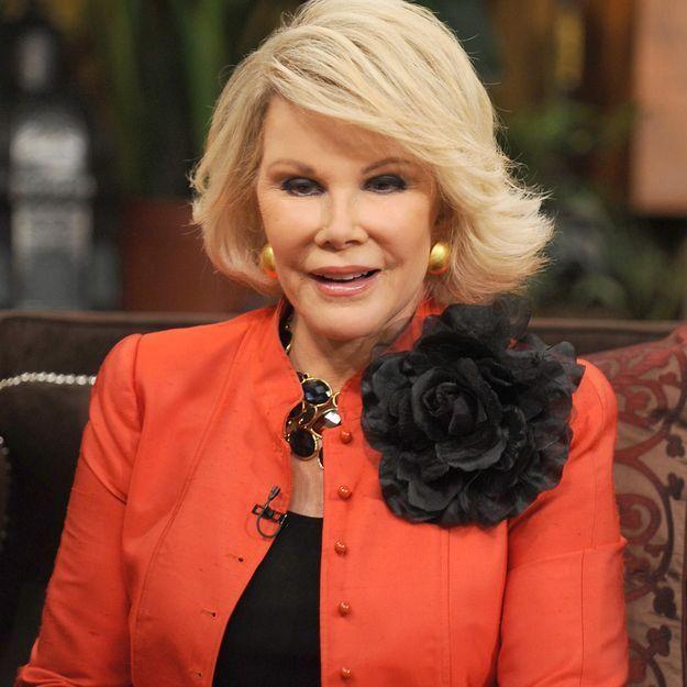 Décès de Joan Rivers: pourquoi Hollywood l'adorait