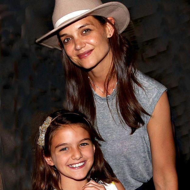 Découvrez la ressemblance frappante entre Katie Holmes et sa fille Suri au même âge