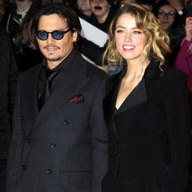 Découvrez les premiers clichés du mariage de Johnny Depp et Amber Heard
