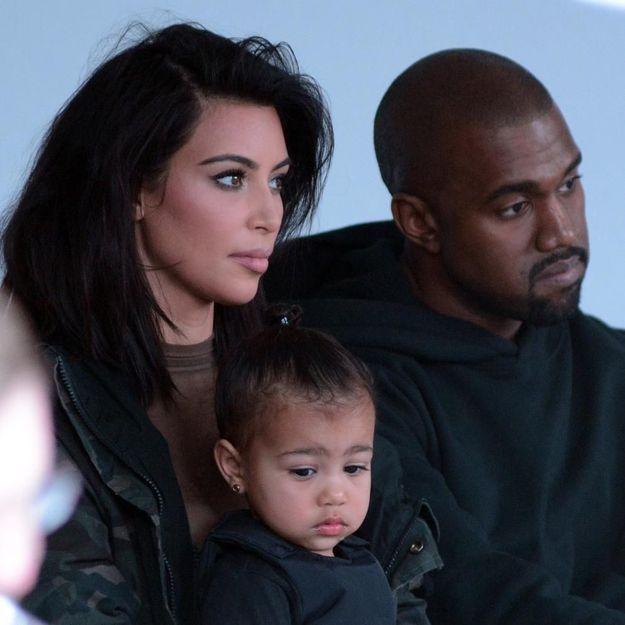 Défilé de Kanye West : North entourée des plus grandes stars