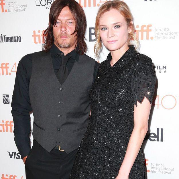 Diane Kruger en dit plus sur le bébé qu'elle vient d'avoir avoir Norman Reedus de « The Walking Dead »
