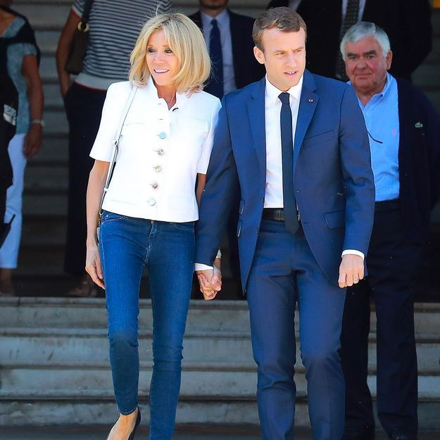 Emmanuel et Brigitte Macron allument le feu à l'Elysée avec Laeticia et Johnny Hallyday