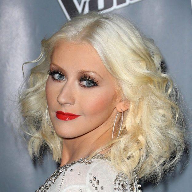 Enceinte de son deuxième enfant, Christina Aguilera pose nue