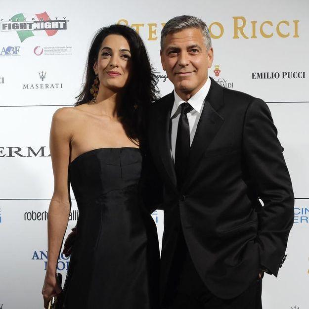 George Clooney et Amal Alamuddin se montrent enfin en couple !