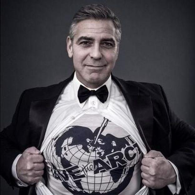 George Clooney et Kate Moss écolos pour Vivienne Westwood