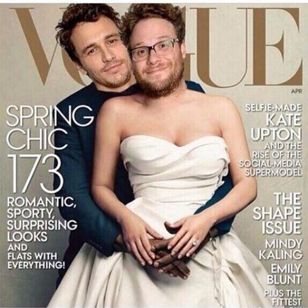 James Franco et Seth Rogen se moquent de Kanye West et Kim Kardashian