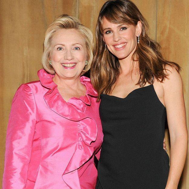 Jennifer Garner : « Hillary Clinton, notre future présidente »