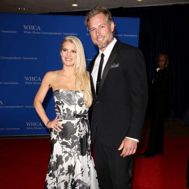 Jessica Simpson a épousé Eric Johnson à Santa Barbara