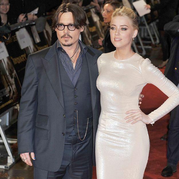 Johnny Depp et Amber Heard, une fête très privée pour leurs fiançailles