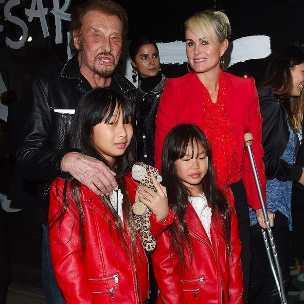 Johnny Hallyday, ses filles Jade et Joy : « Il a soigné l'abandon par l'adoption »