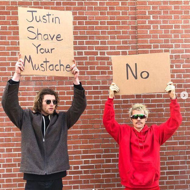 Justin Bieber fait le buzz avec l'Instagrammeur Dude With Sign pour son nouvel album