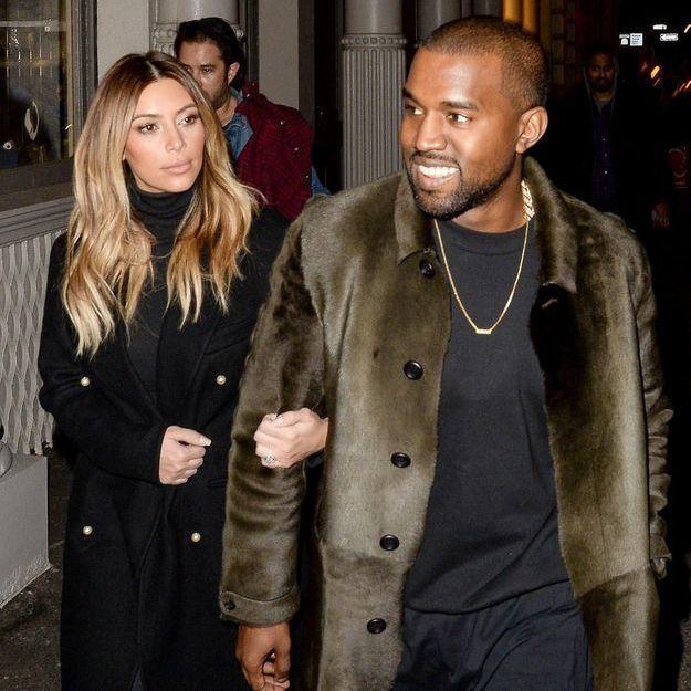 Kanye West et Kim Kardashian à Paris pour préparer leur noce
