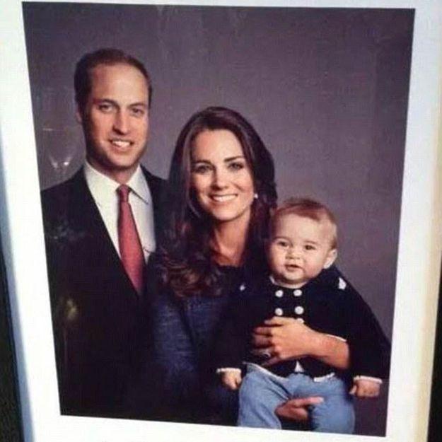 Kate Middleton et William : découvrez leur adorable portrait de famille avec le prince George