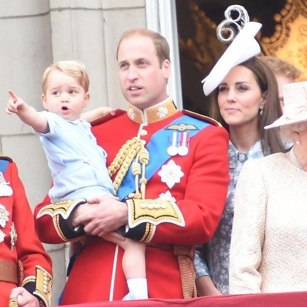 Kate Middleton: le prince George lui vole la vedette lors de la parade Trooping The Colour