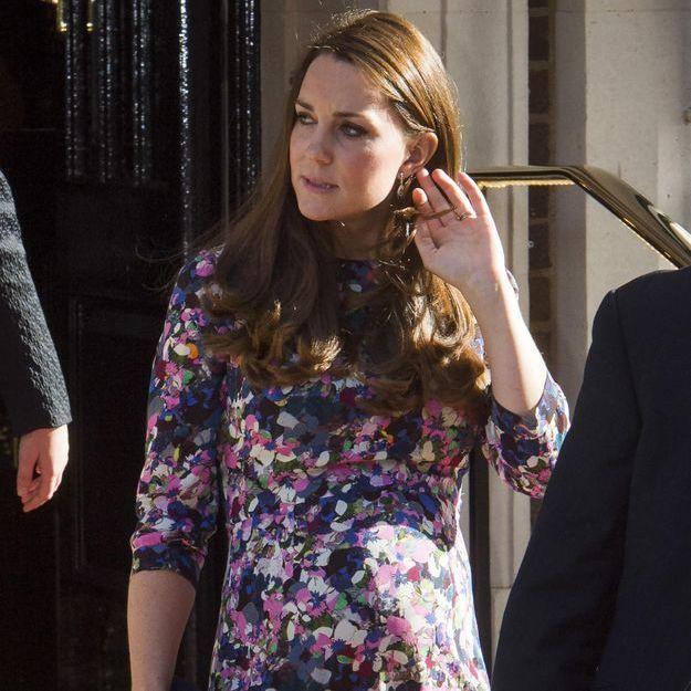 Kate Middleton voudrait accoucher chez elle