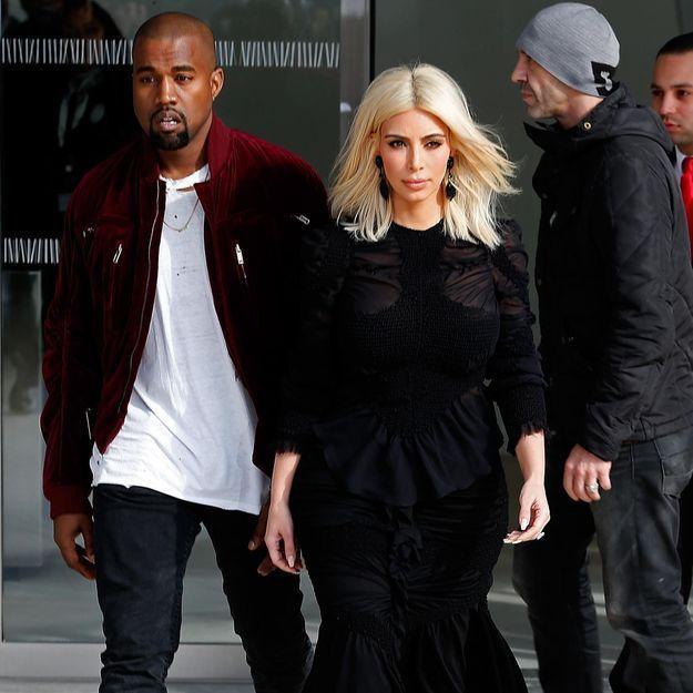 Kim Kardashian (encore) nue : Kanye West se dit « chanceux »
