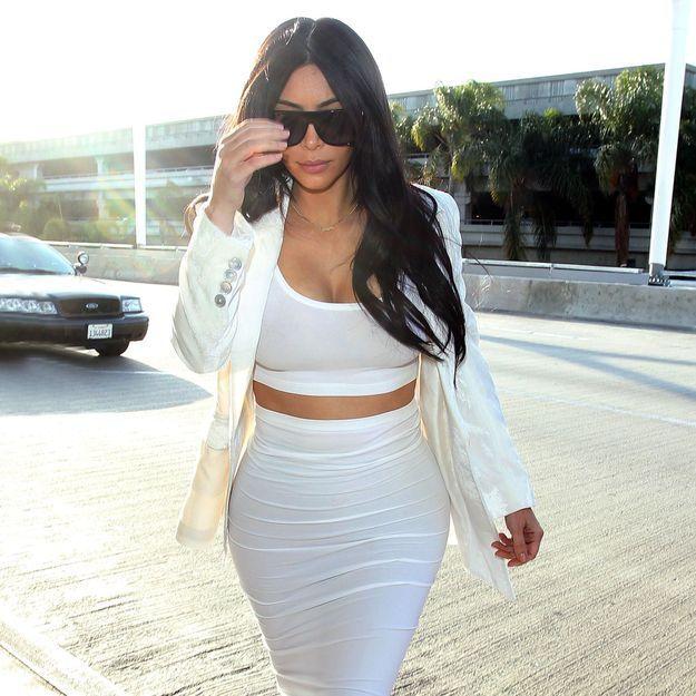 Kim Kardashian, loin de sa fille North pour la fête des mères