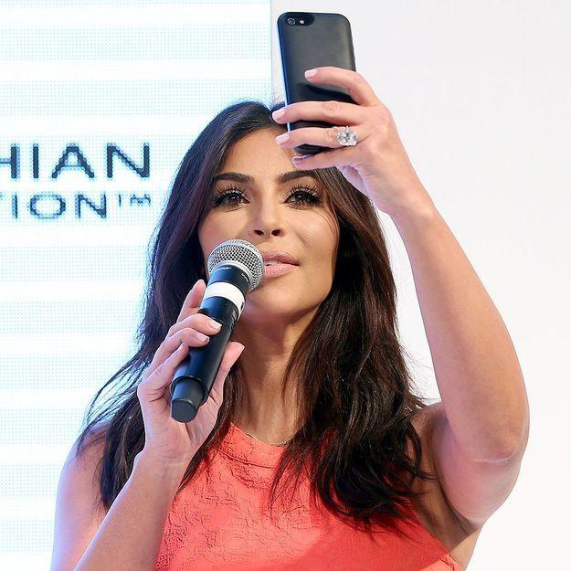 Kim Kardashian rêve d'un selfie avec Jésus