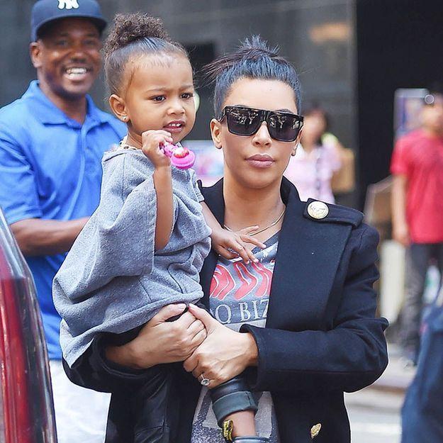 Kim Kardashian : sa photo de North et Saint sur Instagram