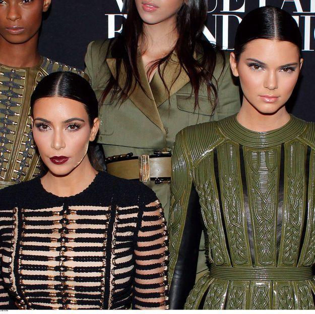 Kim Kardashian à Paris pour faire la fête avec Kendall Jenner