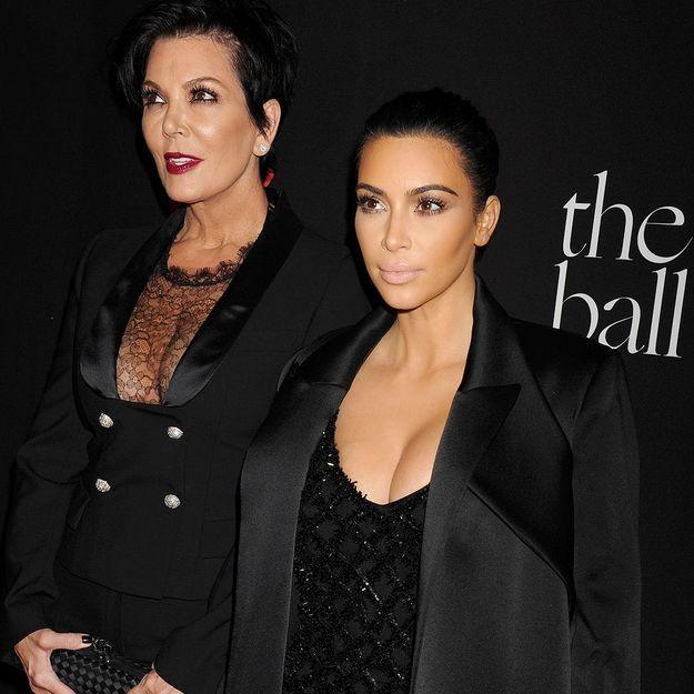 Entre Kim Kardashian et Kris Jenner, la guerre est déclarée