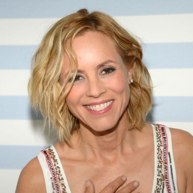 l actrice maria bello fait son coming out elle. Black Bedroom Furniture Sets. Home Design Ideas