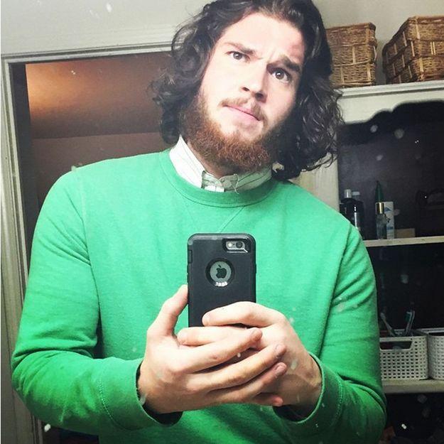 L'homme de la semaine: Josiah, l'incroyable sosie de Jon Snow!