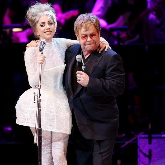Lady Gaga: «Elton John m'a sauvée»