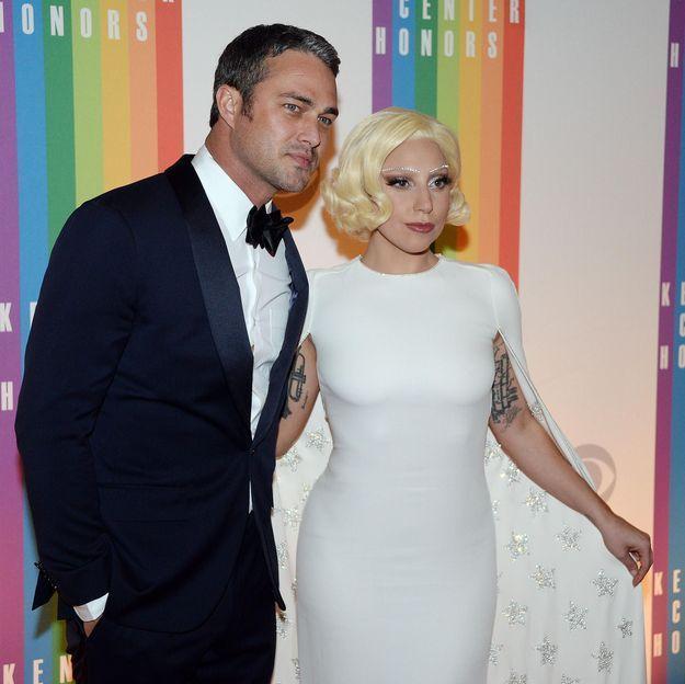 Lady Gaga surprise par son fiancé Taylor Kinney