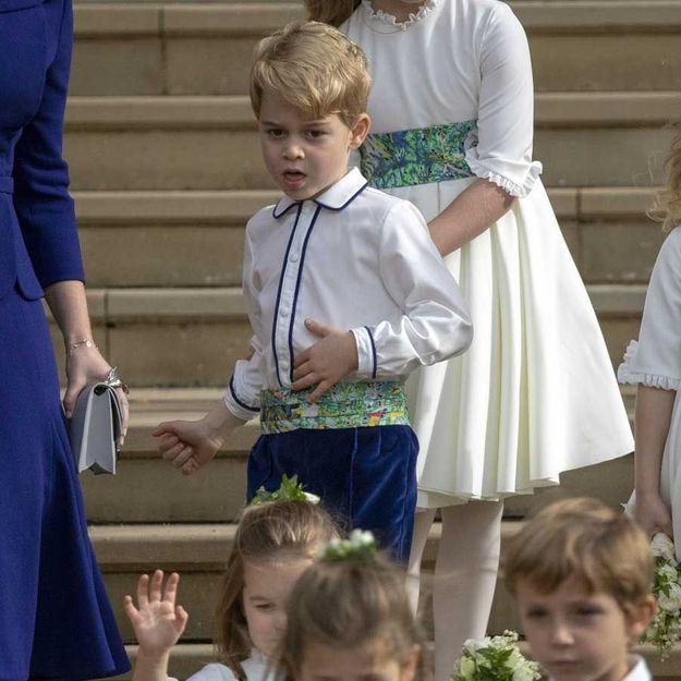 Le prince George, 5 ans, prend déjà des cours d'informatique et de danse !