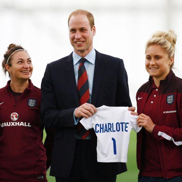 Le prince William donne des nouvelles de la princesse Charlotte