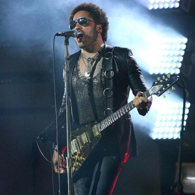 Lenny Kravitz chantera avec Katy Perry au Super Bowl