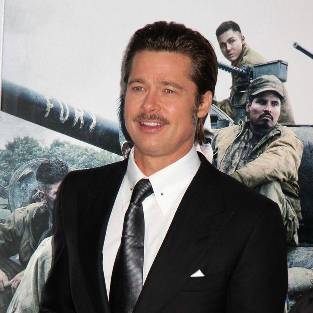 Les fils de Brad Pitt passionnés par les tanks et les bombes