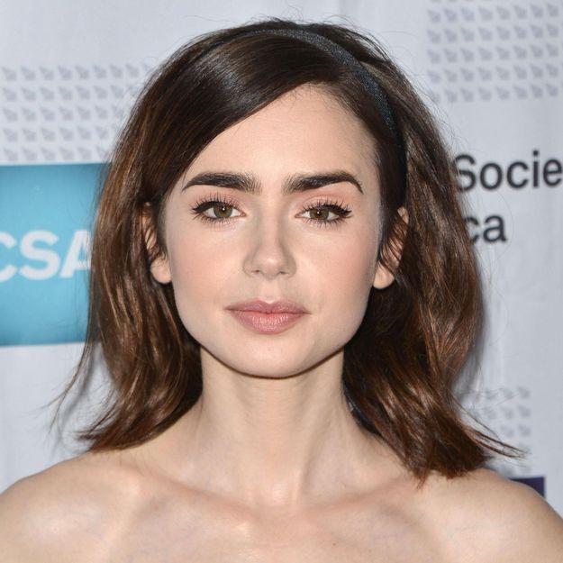 Lily Collins, la fille de Phil Collins, évoque son lourd combat contre l'anorexie