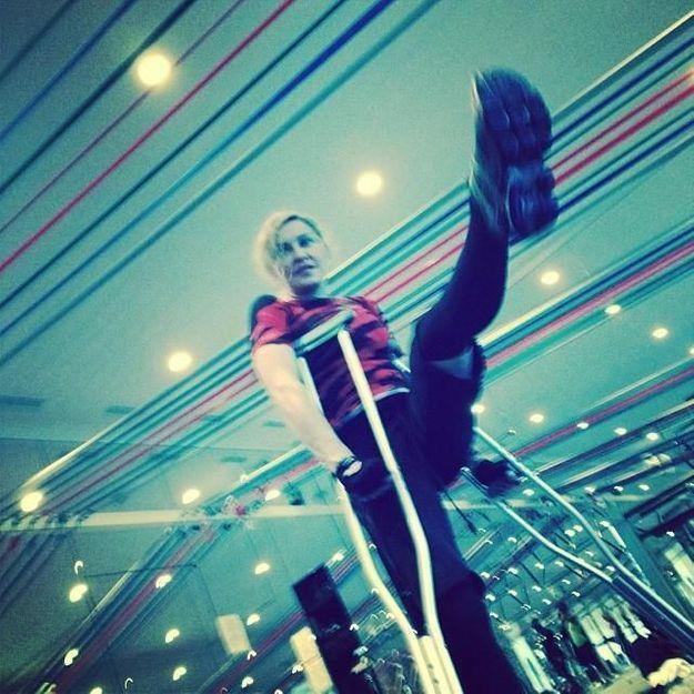 Madonna, blessée après une chute au ski