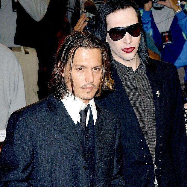 Marilyn Manson se confie sur son amitié avec Johnny Depp