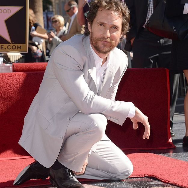 Matthew McConaughey honoré par une étoile à Hollywood