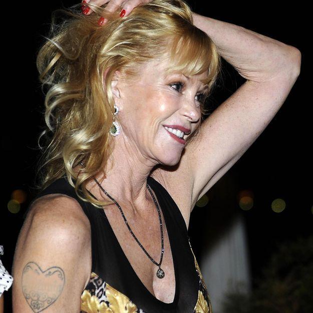 Melanie Griffith efface Antonio Banderas de sa vie et de ses tatouages !
