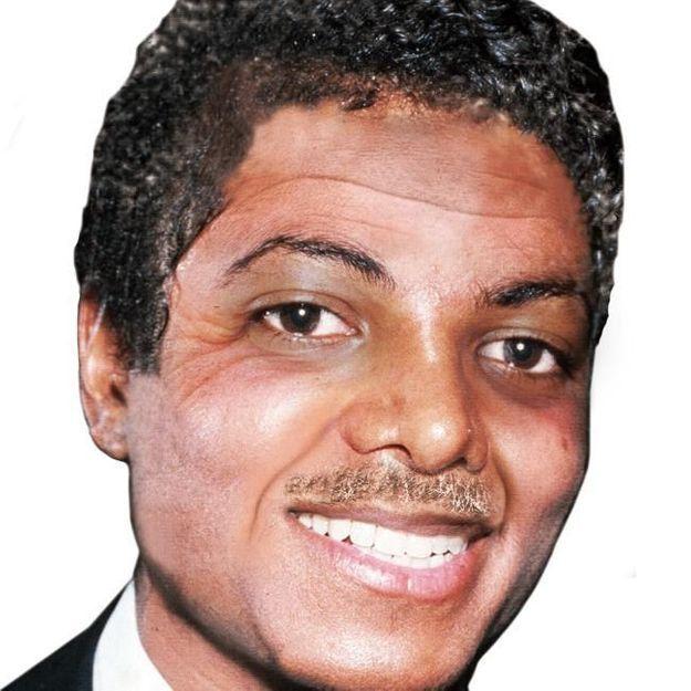 Le visage de Michael Jackson sans chirurgie, la photo choc