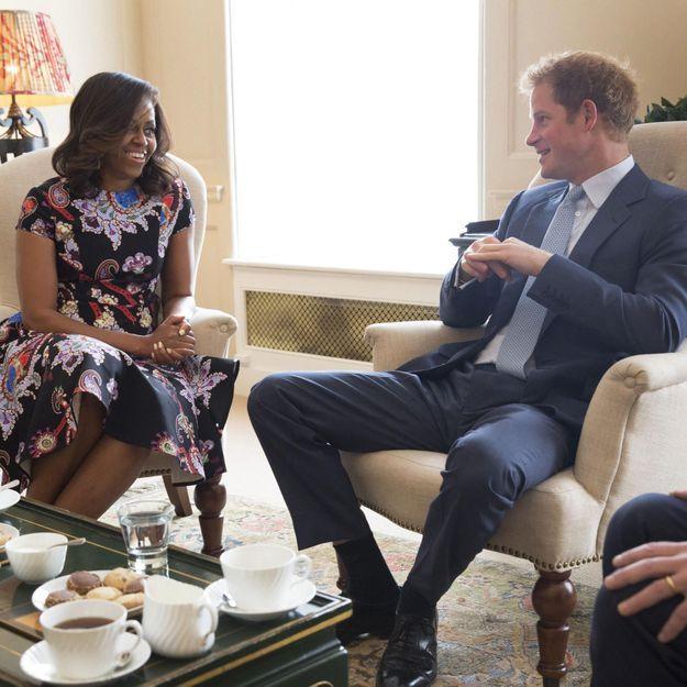 Michelle Obama et le prince Harry réunis pour l'éducation des filles