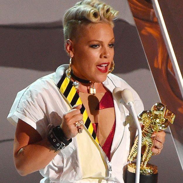 MTV VMA : le discours de Pink à sa fille va vous mettre les larmes aux yeux