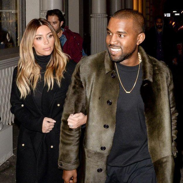On connaît la date de mariage de Kim Kardashian et Kanye West