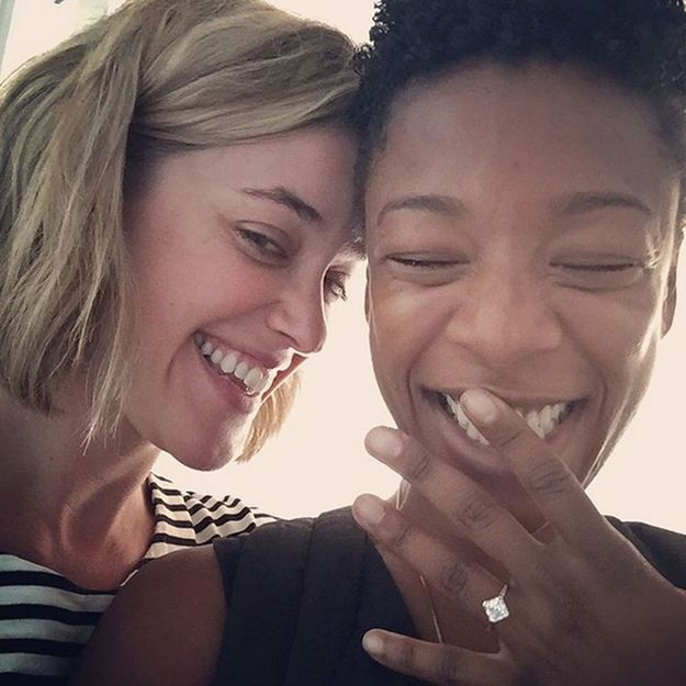 Orange is the New Black : Samira Wiley fiancée à l'une des scénaristes de la série