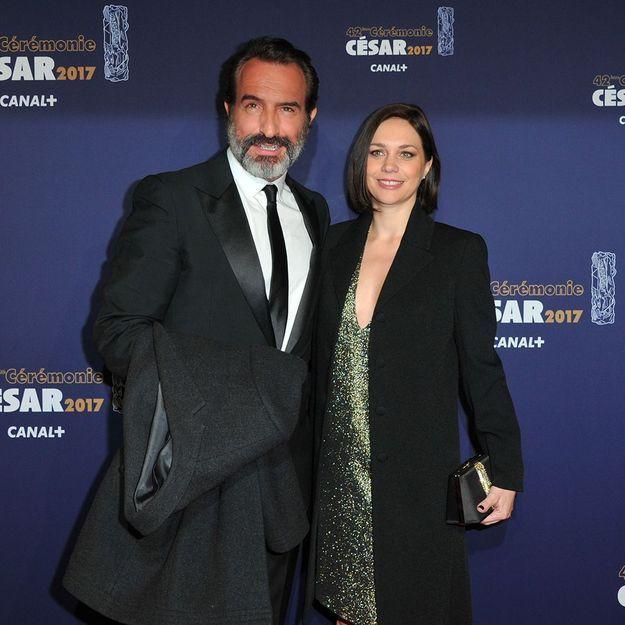 Photo – Jean Dujardin : sa fille Jeanne et Nathalie Péchalat vous souhaitent une belle année
