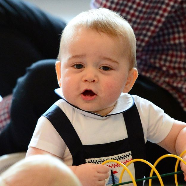 Pour Harry, le prince George ressemble à Winston Churchill